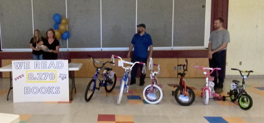 Bikes for Books Drawing!! Click to View!
