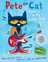 Mr. Edward reading, Pete the Cat Rocking in my School Shoes