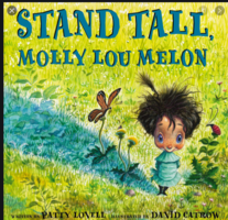 Ms. Kaufman reading Stand Tall Molly Lou Melon