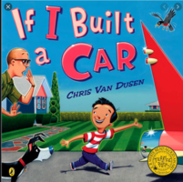 Mrs. Donahue reading If I Built a Car