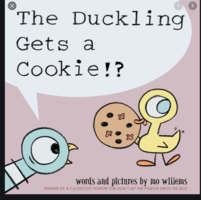 Ms. Fredette reading The Duckling Gets a Cookie!?