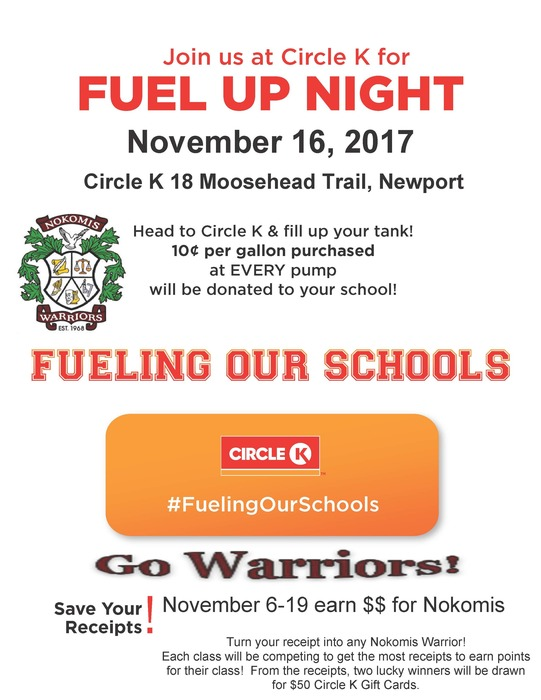 Fuel Up Night