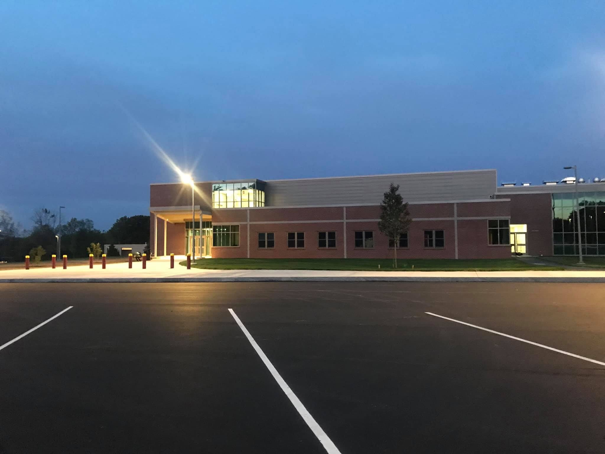 Middle School at Night